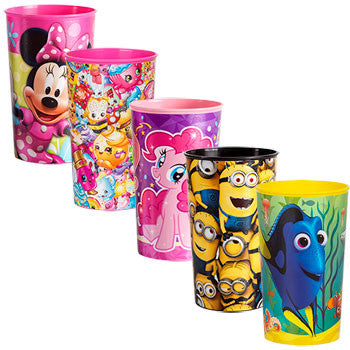 Licensed Character Cups, 22 oz. (Set of 5)