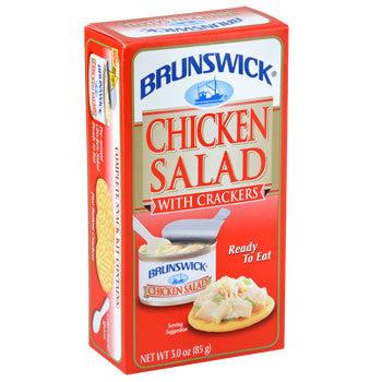 Brunswick Chicken Salad with Crackers, 3-oz. Kit