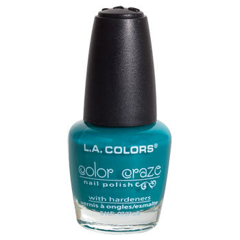 L.A. Colors Color Craze Atomic Blue Nail Polish, .44-oz. Bottle