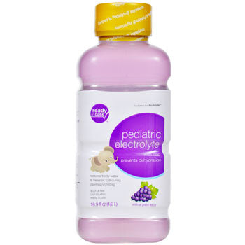 Pediatric Electrolyte Grape Flavor with Zinc, 16.9 oz.
