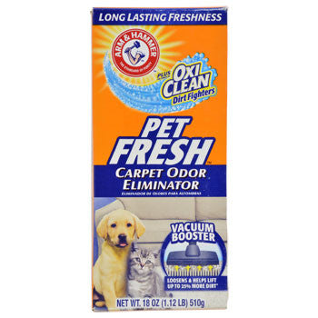 Arm & Hammer Pet Fresh Carpet Odor Eliminator, 18-oz. Box