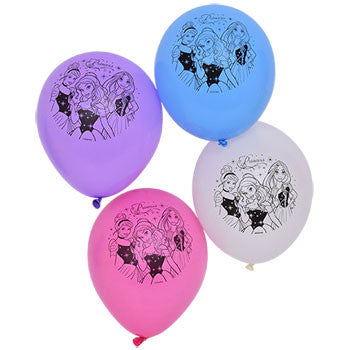 Disney Princesses Latex Balloons, 6-ct. Packs