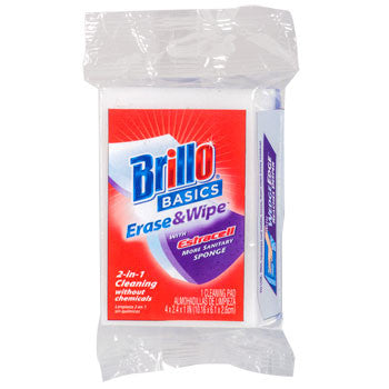 Brillo Basics Erase & Wipe Estracell Sponge