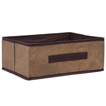 Essentials Brown Collapsible Storage Container