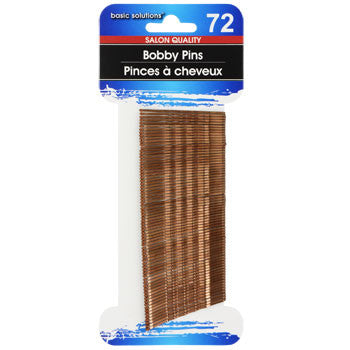 Basic Solutions Brown Bobby Pins, 72-ct. Pack