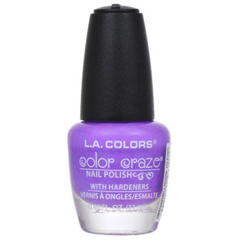 L.A. Colors Color Craze Purple Passion Nail Polish, .44 oz.