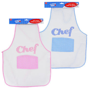 "Cooking Fun Kids ""Chef"" Apron, 21"""