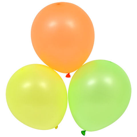 Bright Neon Balloons, 15-ct. Pack