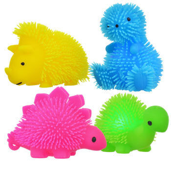 LED Rubbery Baby Dinosaurs, 2½""