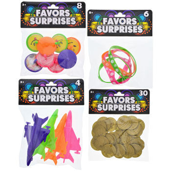 Kids Assorted Plastic Party Favors