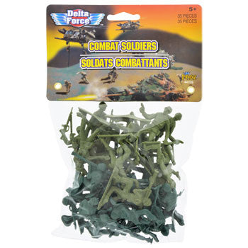 Delta Force Combat Soldiers, 35-ct. Pack