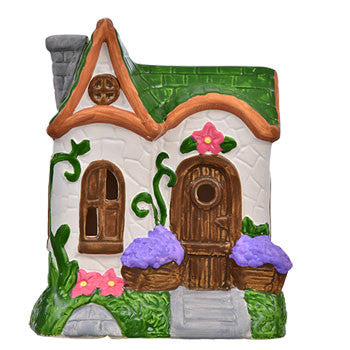 Mini Ceramic Fairy Garden Houses