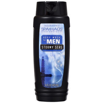 Spa Haus Stormy Seas Body Wash for Men, 16-oz. Bottle