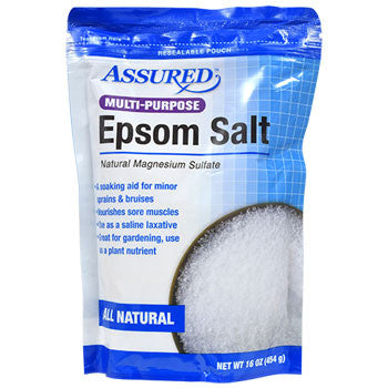Assured Multi-Purpose Epsom Salt, 16 oz.