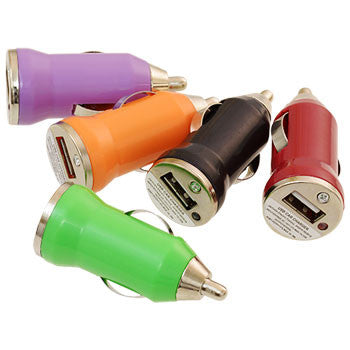 Colorful USB Car Chargers