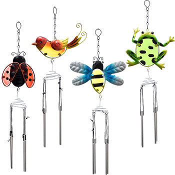 Garden Collection Metal insects Wind Chimes