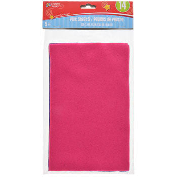 Crafters Square Felt Sheets, 14-ct. Pack