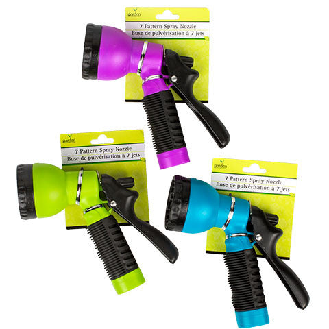 Garden Collection 7-Pattern Multi-Function Spray Nozzle