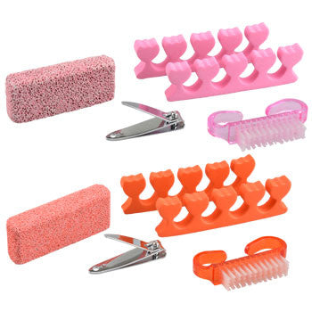 Sassy+Chic Pedicure Tools, 5-pc. Set