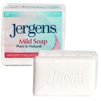 Jergens Mild Soap Bars, 3-ct. Pack