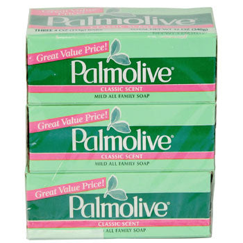 Palmolive Soap Bars, 3-ct. Pack