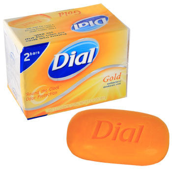 Dial Gold Antibacterial Deodorant Soap, 2-ct. Pack