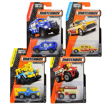 Matchbox Die-Cast Toy Cars (Set of 3)