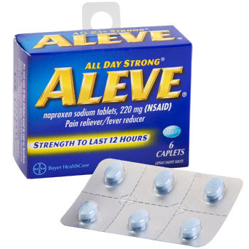Aleve Caplets, 6-ct. Pack