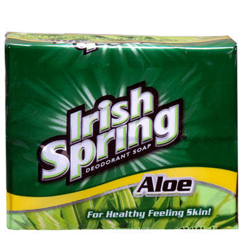 Irish Spring Soap Bars with Aloe, 2-ct. Pack