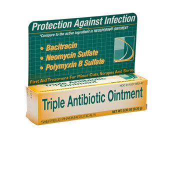Triple Antibiotic Ointment, 0.33-oz. Tube