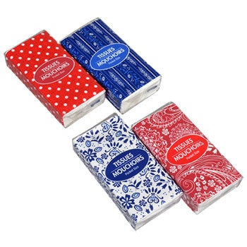8-ct. Packs of Pocket Tissue
