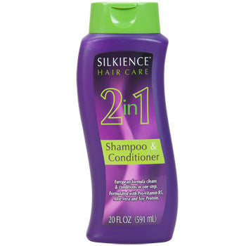 Silkience 2-in-1 Shampoo and Conditioner, 20 oz.