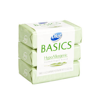 Dial Basics Soap, 3-ct. Pack