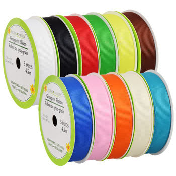 Bright Grosgrain Ribbon, 5-yd. Spool