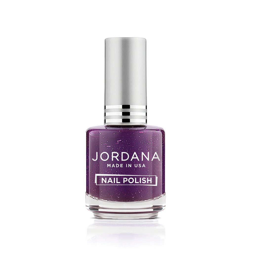 Jordana Nail Polish Purple Glam