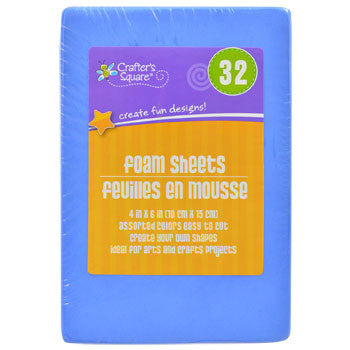 Crafters Square Foam Sheets, 32-ct. Pack