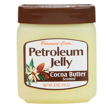 Personal Care Cocoa Butter Scented Petroleum Jelly, 4 oz.