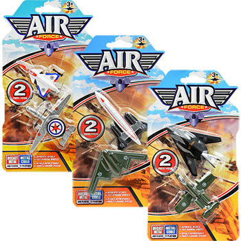 Air Force Toy Jets, 2-ct. Pack