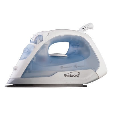 Brentwood Non-Stick Soleplate Steam Iron