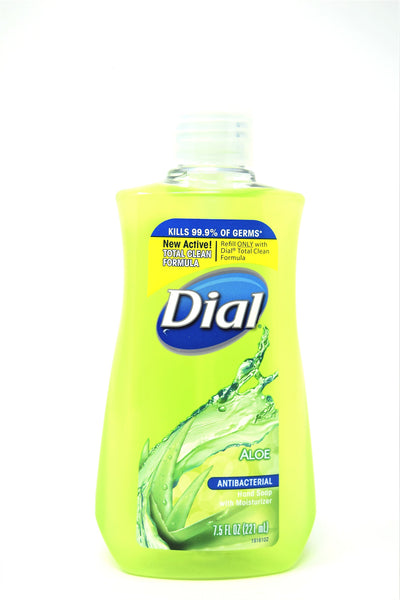 Dial Aloe Antibacterial Hand Soap With Moisturizer, 7.5 oz