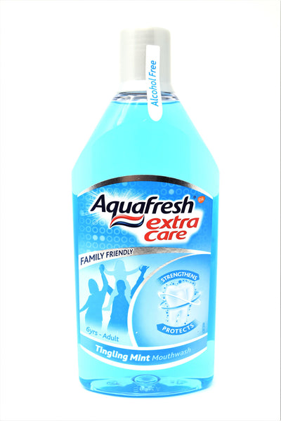 Aquafresh Extra Care Tingling Mint Mouthwash