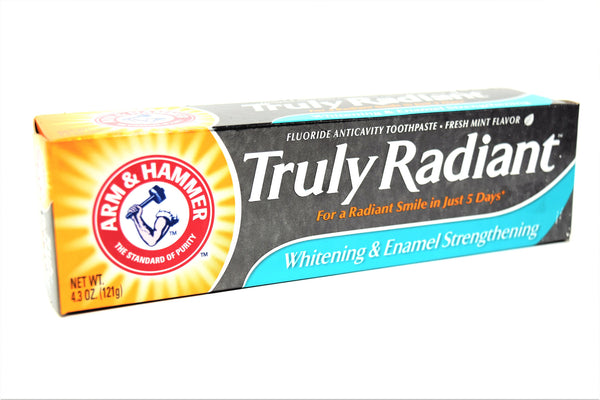 Arm & Hammer Truly Radiant Whitening & Enamel Strengthening Toothpaste, 4.3 oz
