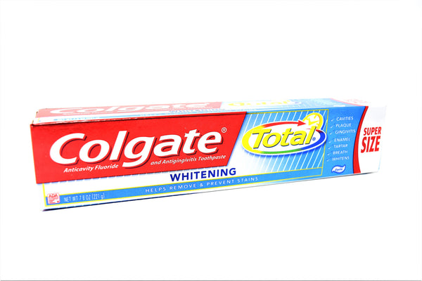 Colgate Total Whitening Toothpaste Super Size, 7.8 oz.