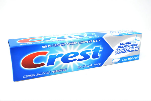 Crest Tartar Protection Whitening Cool Mint Toothpaste, 8.2 oz.