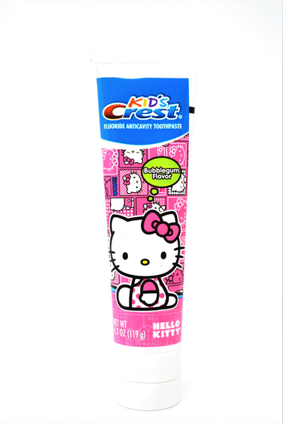 Kid's Crest Hello Kitty Bubble Gum Flavor Toothpaste, 4.2 oz.