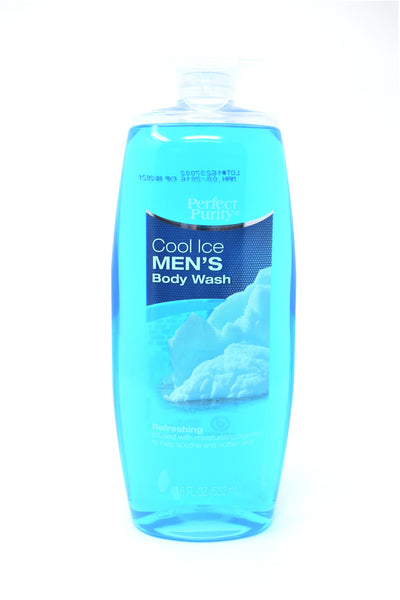 Perfect Purity Cool Ice Men's Body Wash, 18 oz.