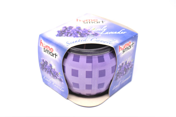 Home Smart Scented Candle Lively Lavender, 3 oz.