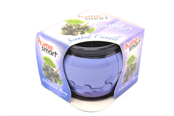 Home Smart Scented Candle Mountain Berry, 3 oz.
