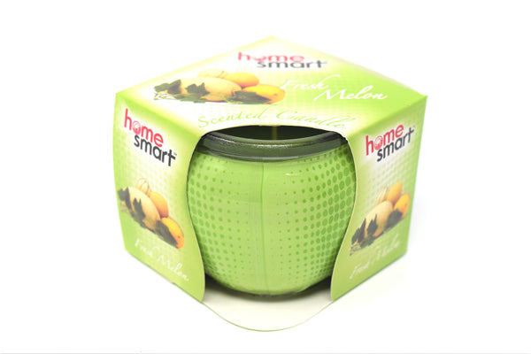 Home Smart Scented Candle Fresh Melon, 3 oz.