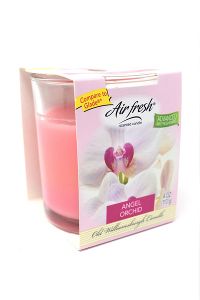 Air Fresh Scented Candle Angel Orchid, 4 oz.